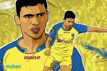 Kerala Blasters FC announce the signing of Vincy Barretto. (Image courtesy: Kerala Blasters FC)