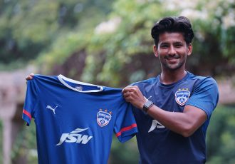 Bengaluru FC news signing Jayesh Rane. (Photo courtesy: Bengaluru FC)