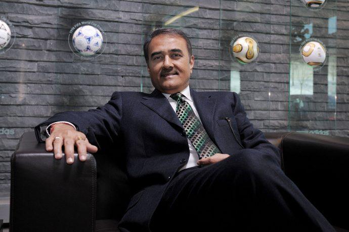 Praful Patel, President, All India Football Federation. (Photo courtesy: AIFF Media)