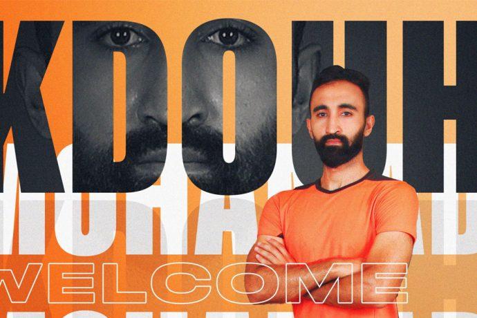 Lebanese striker Mohamad Kdouh joins NEROCA FC. (Image courtesy: NEROCA FC)