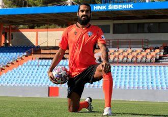 HNK Šibenik and India defender Sandesh Jhingan. (Photo courtesy: HNK Šibenik)