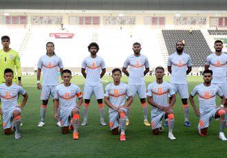 The Indian national team. (Photo courtesy: AIFF Media)