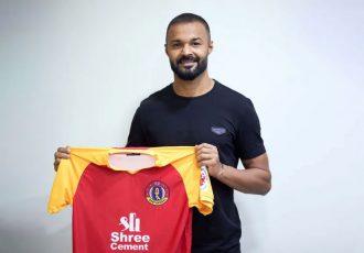 SC East Bengal goalkeeper Arindam Bhattacharya. (Photo courtesy: SC East Bengal)