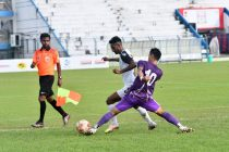 Calcutta Football League – Premier Division A match action between Mohammedan Sporting Club and United Sports Club. (Photo courtesy: Mohammedan Sporting Club)