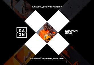 DAZN and Common Goal – uniting to change the game, together. (Image courtesy: DAZN)