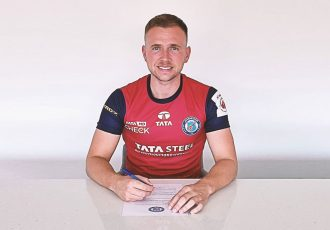 Scottish attacking midfielder Greg Stewart has signed a contract with Jamshedpur FC. (Photo courtesy: Jamshedpur FC)