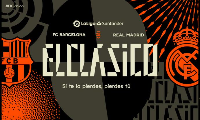 LaLiga presents ElClasico's new brand identity. (Image courtesy: LaLiga)