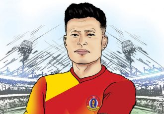 SC East Bengal welcome their new signing Jackichand Singh. (Image courtesy: SC East Bengal)