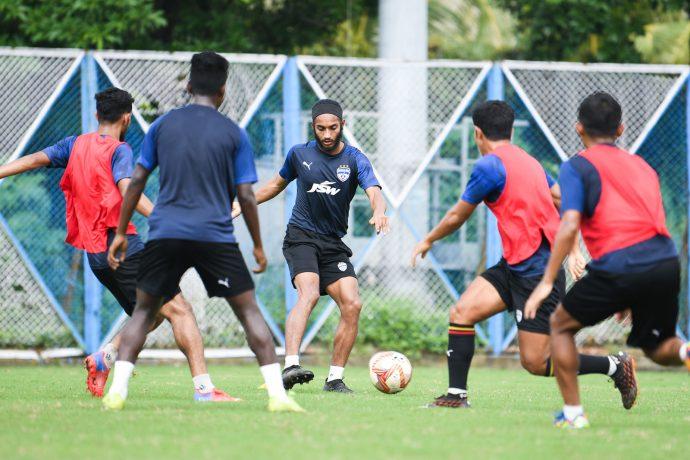 Bengaluru FC players in training. (Photo courtesy: Bengaluru FC)