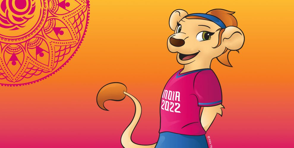 Ibha™, the Official Mascot for the FIFA U-17 Women's World Cup India 2022. (© FIFA)