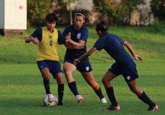 Indian Women's national team training session. (Photo courtesy: AIFF Media)