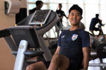"Indian national team midfielder Lalengmawia ""Apuia"" Ralte. (Photo courtesy: AIFF Media)"
