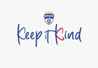 "Bengaluru FC's ""Keep It Kind"" campaign. (Image courtesy: Bengaluru FC)"