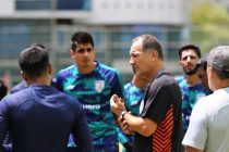 Head coach Igor Štimac and the Indian national team in training. (Photo courtesy: AIFF Media)