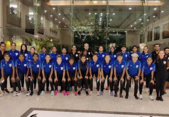 The Indian Women's national team squad. (Photo courtesy: AIFF Media)