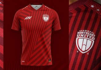 The new NorthEast United FC home kit by Six5Six for the 2021/22 season. (Images courtesy: NorthEast United FC)